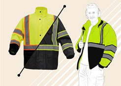 Safety Winter Jacket